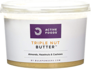 Bulk Powders Triple Nut Butter