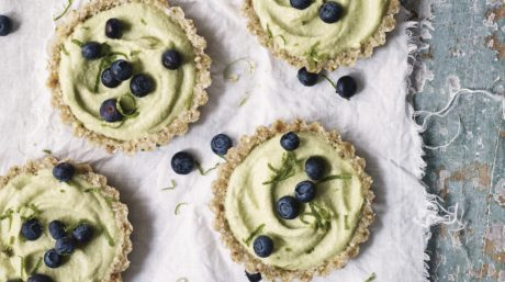Raw Lemon & Lime Curd Tartlets