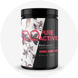 PureActive PreExercise Vegan Supplement