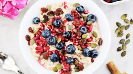 Apple, Cinnamon and Chia Bircher Muesli
