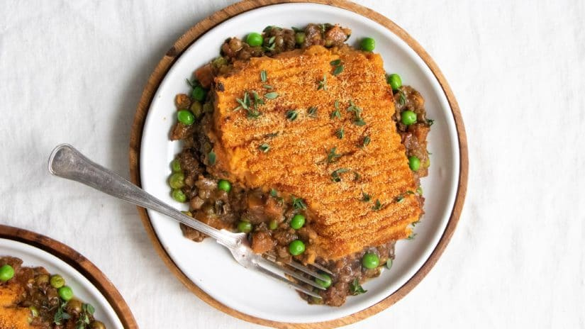 Prepared Hearty Vegan Shepherd's Pie