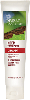 Desert Essence Vegan Toothpaste with Neem