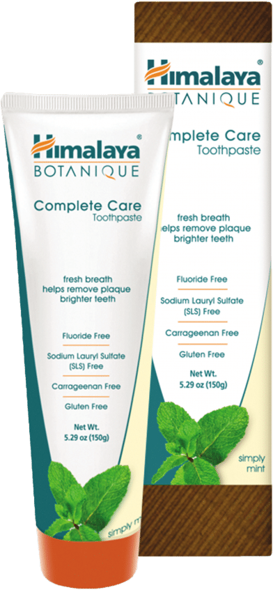 Himilaya Botanique's Vegan Toothpaste is Fluoride Free