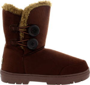 Holly Women's Twin Button Waterproof Winter Snow Boots