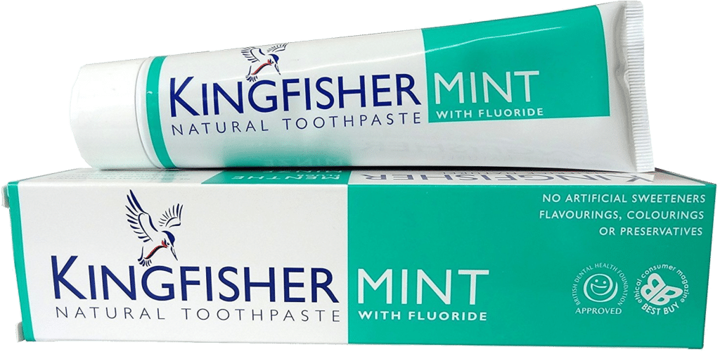 Kingfisher Mint Natural Toothpaste with Fluoride