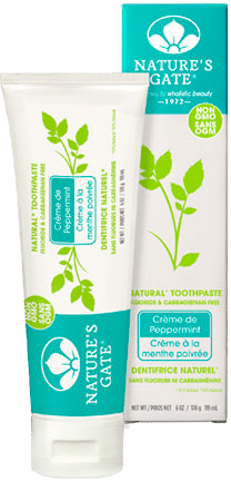Nature's Gate Creme de Mint Vegan Toothpaste