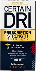 Certain Dri Prescription Strength Clinical Anti-Perspirant