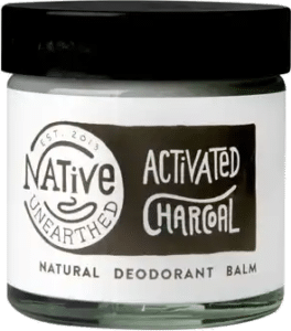 Native Unearthed Activated Charcoal Natural Deodorant Balm