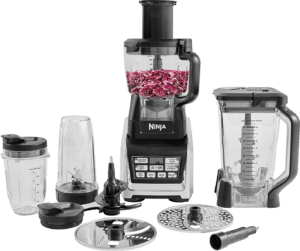 Ninja Complete Food Processor with Auto-iQ and Nutri Ninja