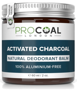 Procoal London Activated Charcoal Natural Deodorant Balm