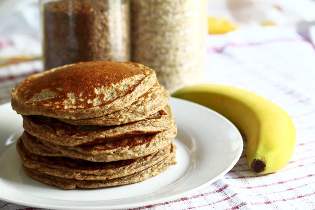 Protein pancakes with banana