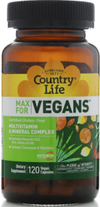 Country Life Max for Vegans