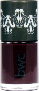 Beauty Without Cruelty deepest mulberry vegan nail polish