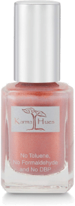 Karma Organic Natural Nail Polish in Gold Digger