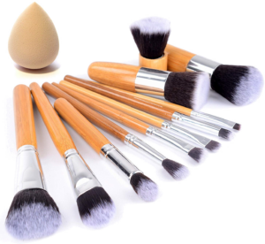 Start Makers Natural Bamboo Makeup Brushes